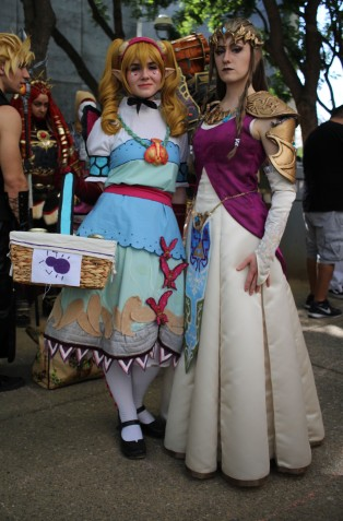 Molli Fagan and Colleen Crews as Agitha and Zelda from Legend of Zelda: Twilight Princess. (Kaylee Fagan)