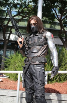 Barrie Evens as The Winter Soldier from Marvel's Captain America: The Winter Soldier. (Kaylee Fagan)