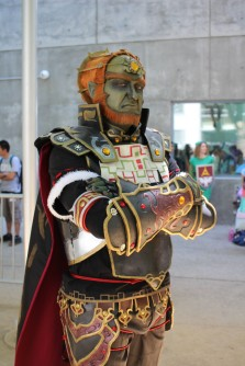 @TheHogKing as Ganondorf from Legend of Zelda. (Kaylee Fagan)