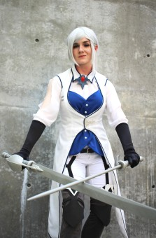 Molli Fagan as Winter Schnee from Rooster Teeth's RWBY (Kaylee Fagan)